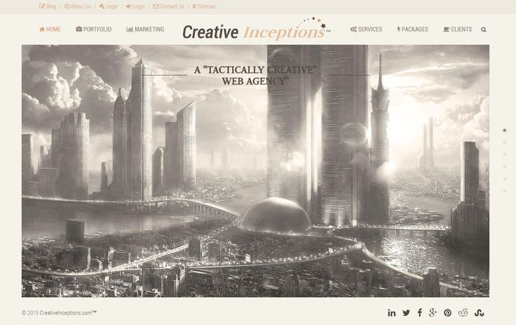"A ""TACTICALLY CREATIVE"" WEB AGENCY    --  https://www.creativeinceptions.com/"