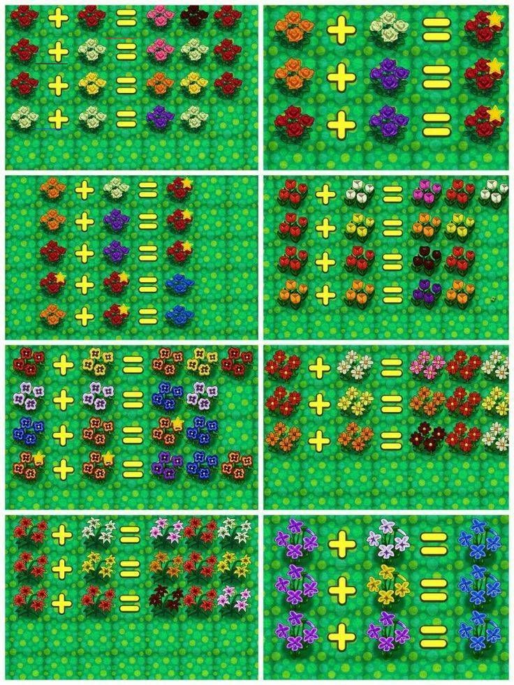 Animal Crossing New Leaf Hybridfuhrer Die Sterne Auf Den Rosen