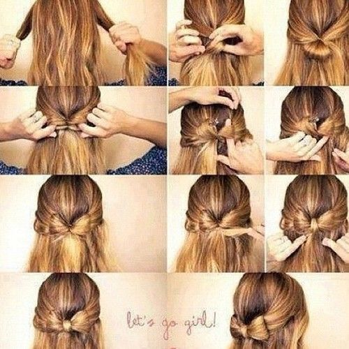 Hair bow-Step by step