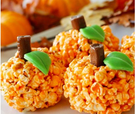 The Stir-11 Easy Popcorn Balls Recipes for Fall Parties (PHOTOS)