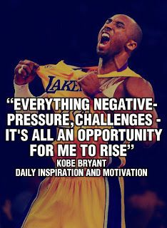 Sad to see Kobe go, 2nd greatest of all time IMO. His quotes are good motivation. Glad I got to be witness to his career