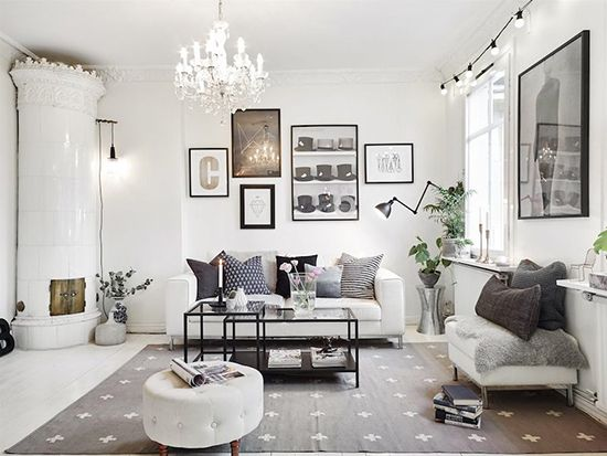 Ide inspiratif interior ruang keluarga bergaya scandinavia ~ Teknologi…