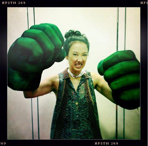 """maurissa tancharoen:  """"Hulk smash."""""""