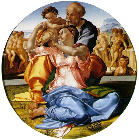 Doni Tondo by Michelangelo