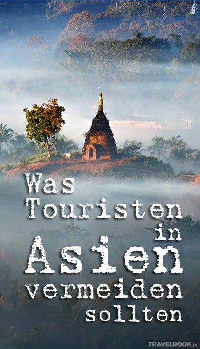 Weil ein Tourist in Myanmar ein Buddha-Tattoo öffentlich zeigte, wurde er des Landes verwiesen. Hintergrund: Es handelt sich dabei um ein religiöses Symbol, Einwohner fühlten sich in ihrem Glauben angegriffen. Doch das war nicht das erste Mal, dass ein westlicher Tourist in Südostasien mit den Gesetzen in Konflikt geraten ist.