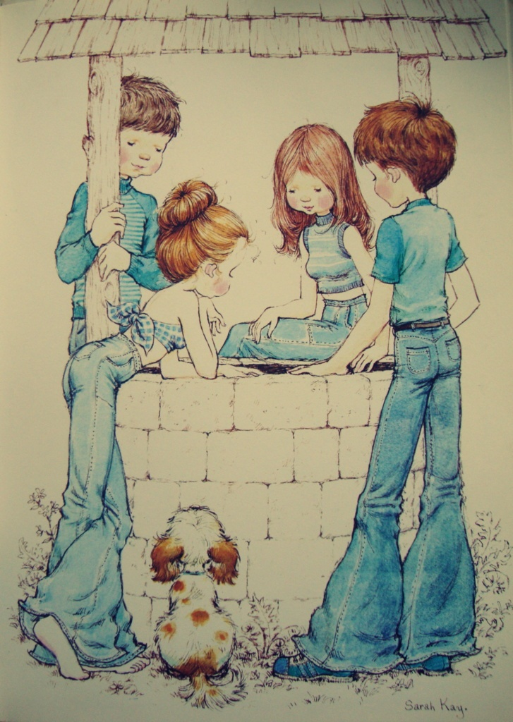 Sarah Kay, Holly Hobbie illustration