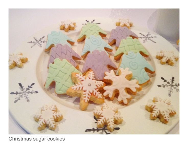Angel sugar cookies | SUGAR And SPICE | Pinterest