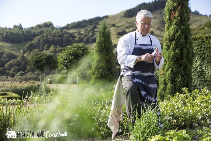 You might find him wandering through our herb garden, Mr Antonio Crisci, executive chef and owner at Poderi Crisci.