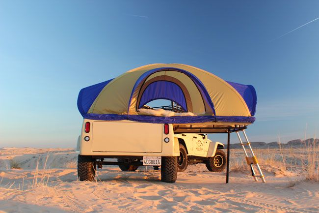 Jeep Off-Road Camping Trailer | Wild Boar Products - Jeep Racks, Jeep Tops and Jeep Accesories