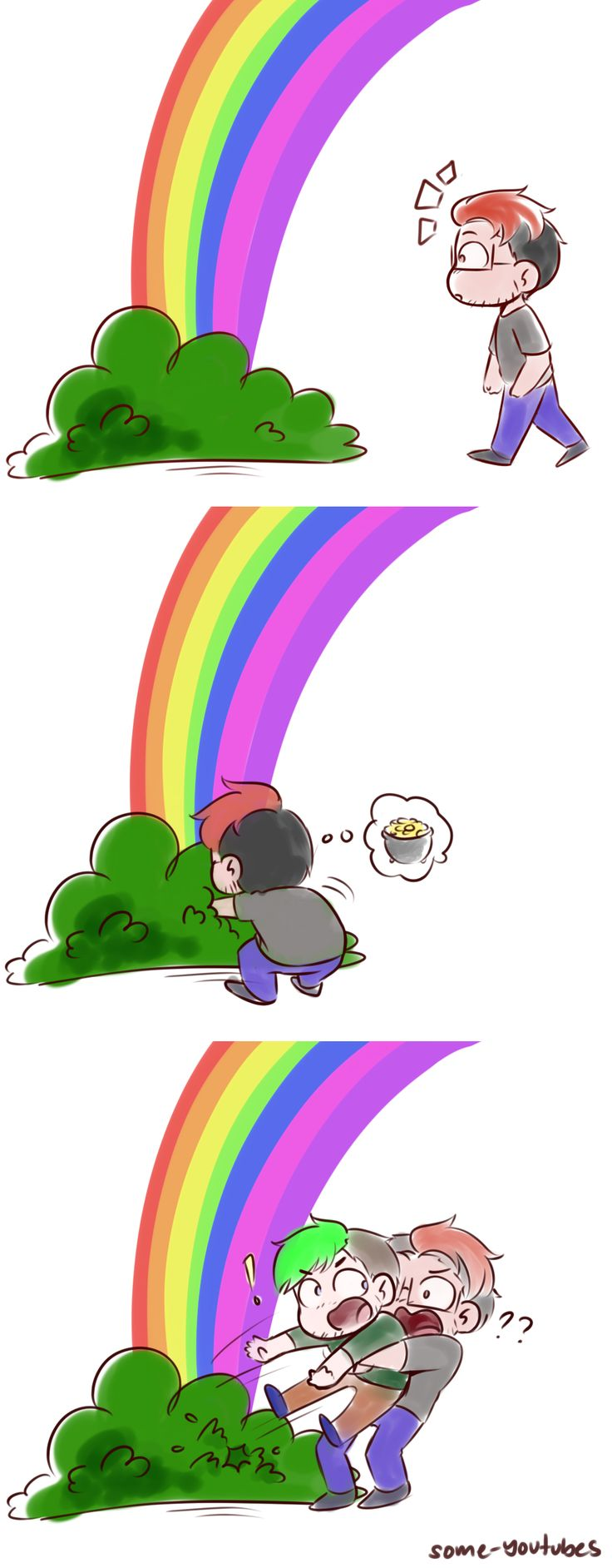 What if theres not a pot of gold at the end of every rainbow? What if its just Jack :D