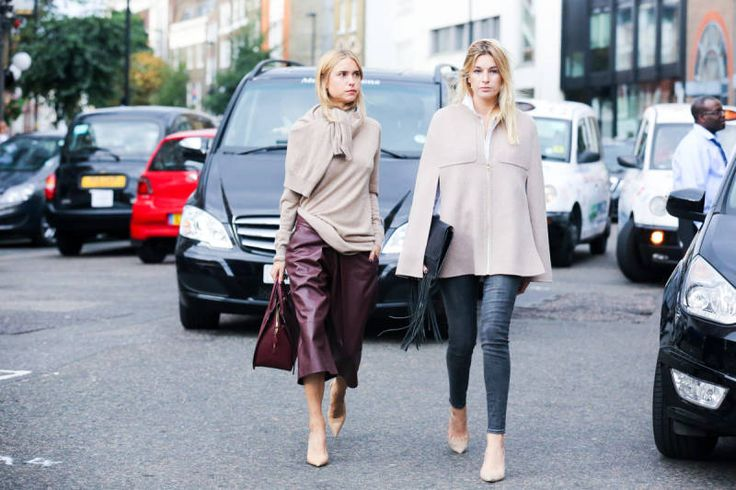 The Best of London Street Style - LFW Street Style Photos Spring 2015 - Elle