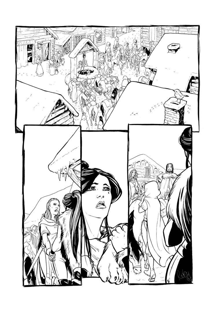 """Cronache dal ghiaccio 2 """"La città proibita"""" -page6 by Roberta Pierpaoli"""