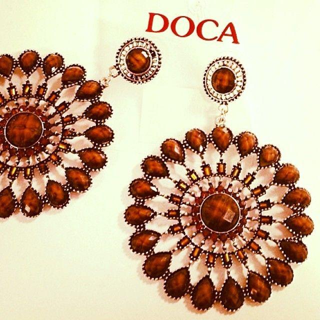 Lovely earrings #Doca #jewel #fashion #earrings #winter #collection #2013