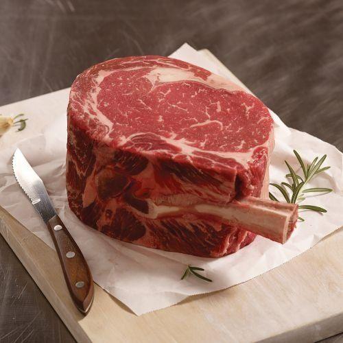 KING CUT: 48 oz. Ribeye on the Bone KING CUT: 48 oz. T-Bone Steak Omaha Steaks King Cut Ribeye/T-Bone combo