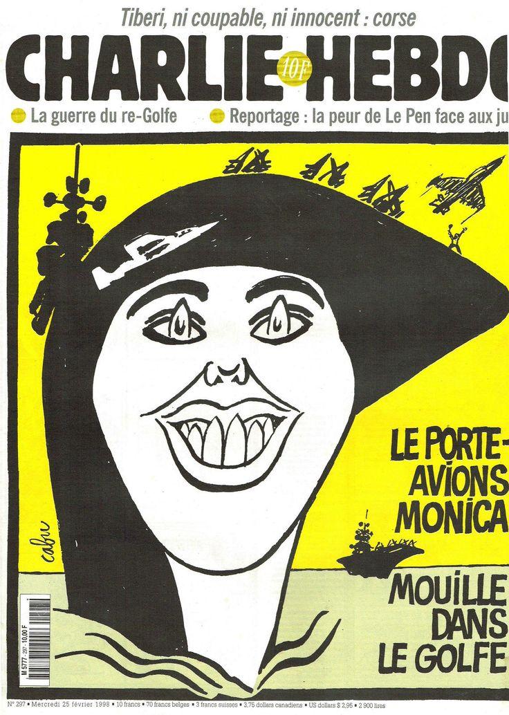 Charlie Hebdo - # 297 - 25 Février 1998 - Couverture : Cabu
