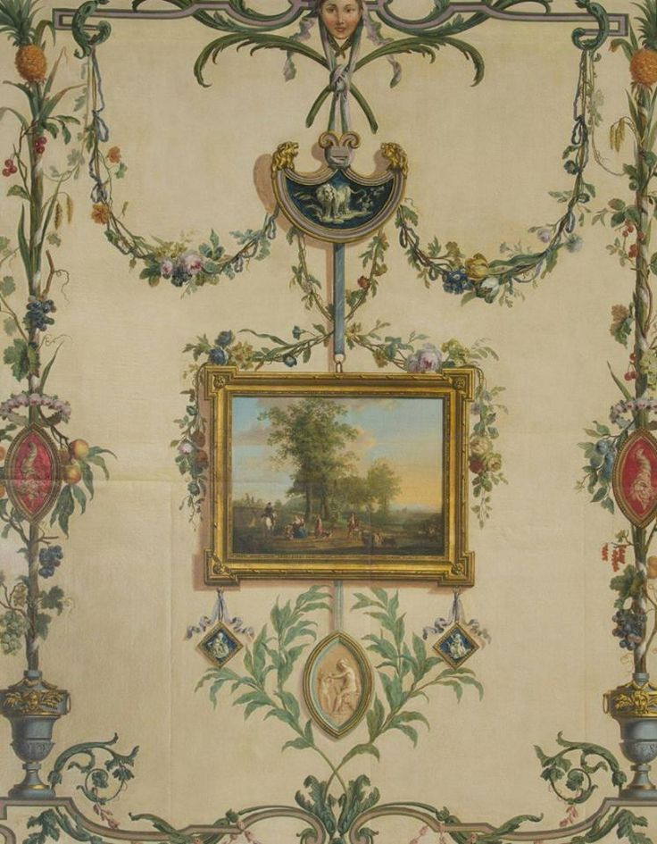 painted wall panel