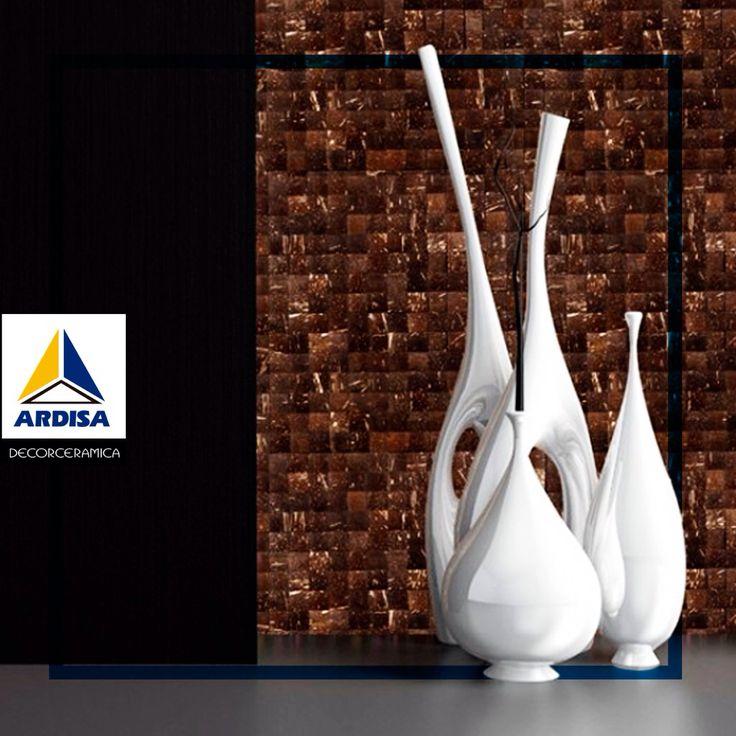 Los amantes del arte y la elegancia encuentran en los azulejos hermosas piezas decorativas para el #hogar