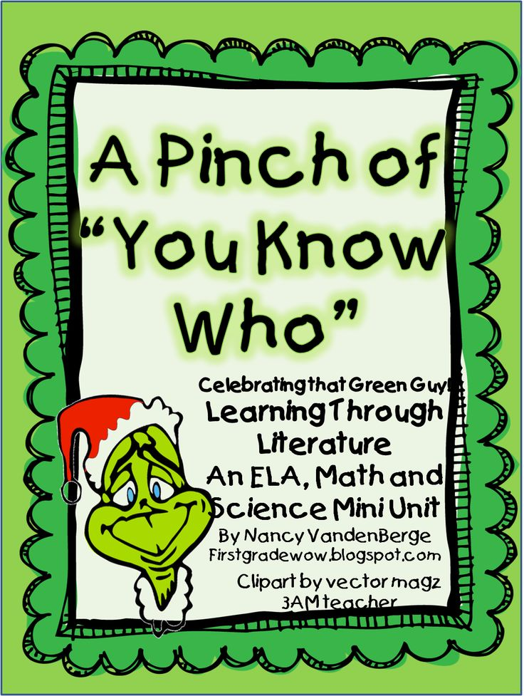 "A Pinch of ""You Know Who!"" (How The Grinch Stole Christmas)"
