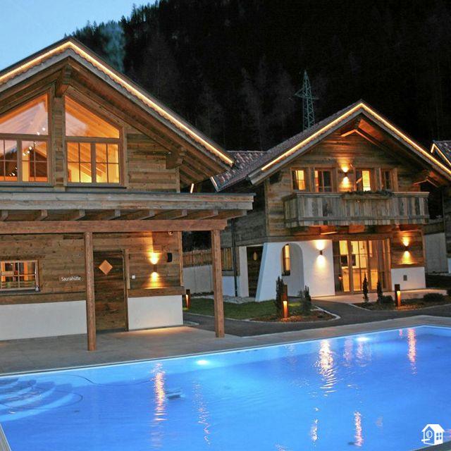 Luxuriöse Chalets mit beheiztem Outdoorpool und Extra-Service mitten im Pitztal, Tirol