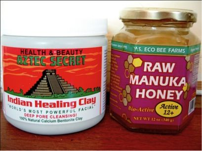 I like to create my own face mask which consists of Indian Healing Clay and Raw Manuka Honey. I mix a tablespoon of the Honey and a teaspoon of the clay and stir it in a tiny bowl. Once it is all melted together I apply it all over my face and neck and leave it on for about 20 minutes. I do this once a week and my skin has never looked and felt clearer! It is super affordable and fun to apply!