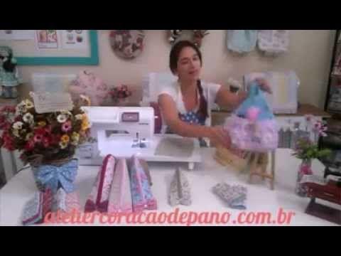 Atelier Coração de Pano -- Vamos aprender a coordenar tecidos ! - YouTube
