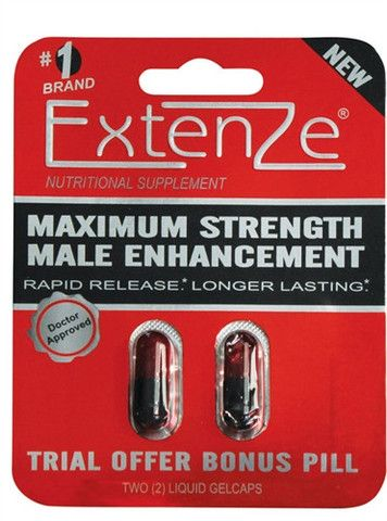 EXTENZE EXTENDED RELEASE GEL CAPS - 2 PACK $8.00 http://bad-honey.myshopify.com/products/extenze-extended-release-gel-caps-2-pack