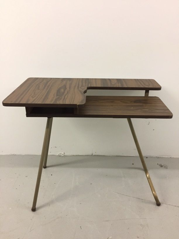 25 best ideas about folding sewing table on pinterest - Small sewing machine table ...