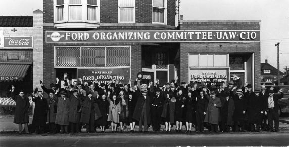 (11620) UAW, Ford Organizing Committee, Dearborn, Michigan, 1941