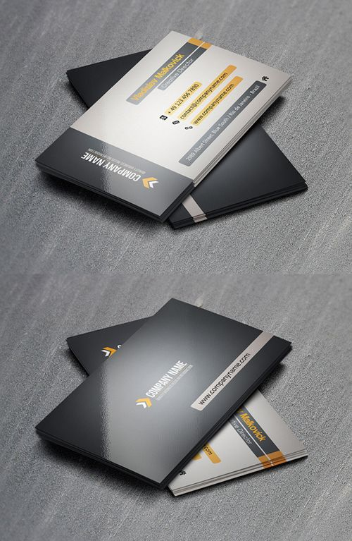 11 best business card designs images on pinterest business card modern premium business cards design 23 high quality reheart Image collections