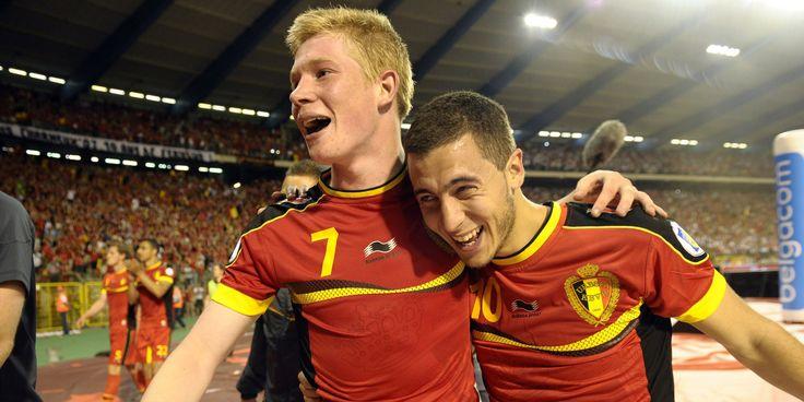 Euro 2016 – Présentation du groupe E  #euro2016 #football #belgique #hazard #debruyne