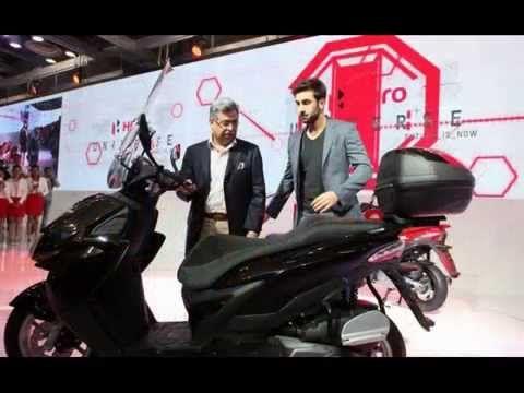 2015 Hero ZIR 150cc Scooter coming soon