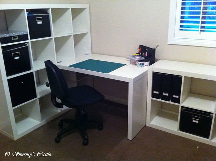 ikea expedit craft room and office google search
