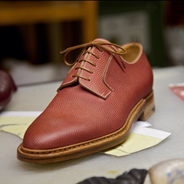 rich gifts shoes leather derby
