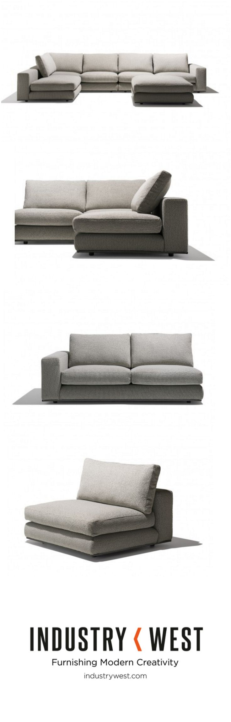 17 Best ideas about Sectional Sofa on Pinterest