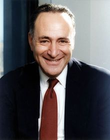 "1/30/2017 NEW YORK: Charles Ellis ""Chuck"" Schumer (D) B: 11/23/1950 is an American politician, the senior US Senator from New York.  First elected in 1998. Notable former aides to Schumer include former US congressman Anthony Weiner.  Wikipedia."
