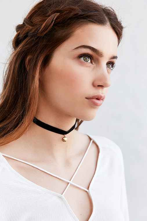 Bombay Velvet Choker Necklace