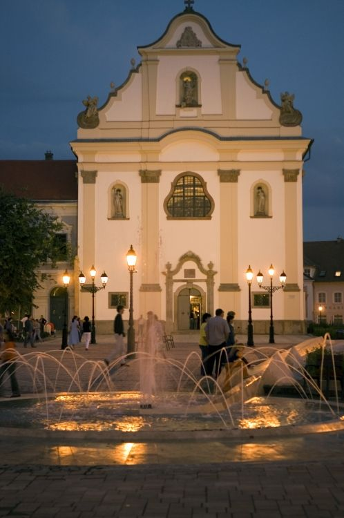 Vác, Hungary :Fehérek temploma