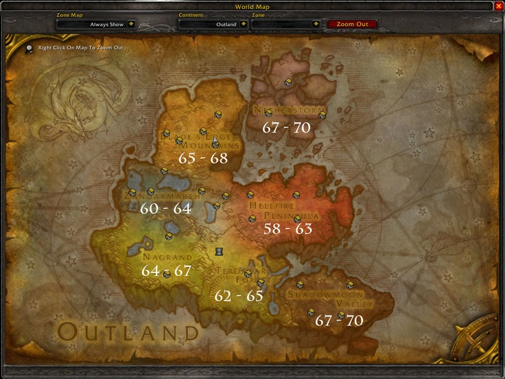 Warmane | Outland | Horde | 1-70 Leveling Time Lapse - YouTube