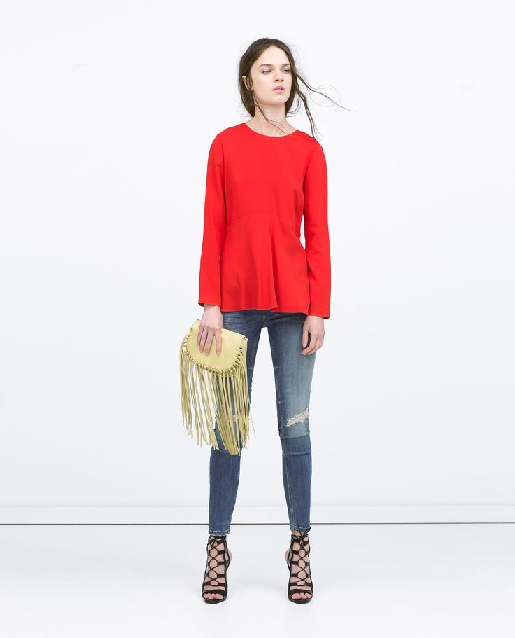 DENIMHOSE SUPERSKINNY SOFT MIT RISSEN - Jeans - DAMEN | Zara Deutschland