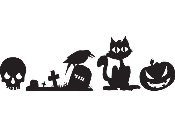 Хэллоуин – Lipdus Окно Наклейки