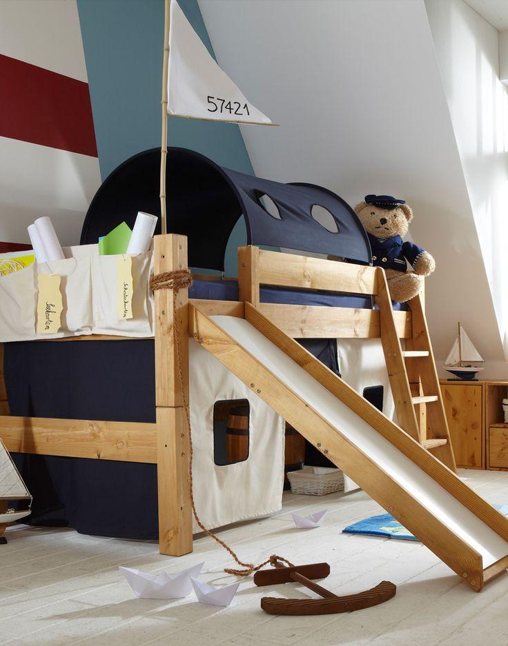 Kinderhochbett mit rutsche ikea  39 best Kinderhochbetten - Auf Expedition ins Abenteuerreich ...