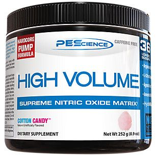 High Volume - COTTON CANDY (252 Grams Powder) by PES at the Vitamin Shoppe