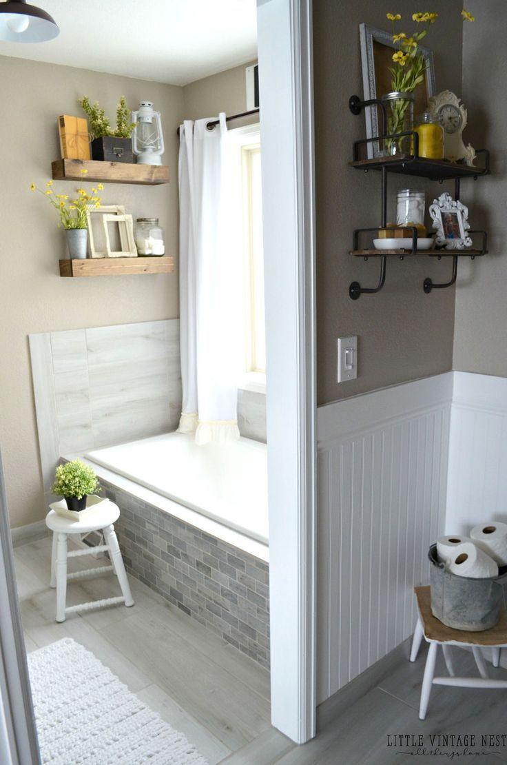 5 Brilliant Design Ideas to Steal From This Farmhouse Bathroom ...