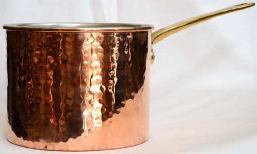 Vintage-Style-Copper-Cookware-Metalware-GREEK-HANDMADE-1-2Kg-6-5-x-5-3-Inches