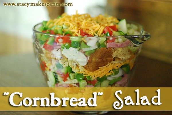 Trim Healthy Tuesday: Cornbread Salad (S) - Stacy Makes Cents