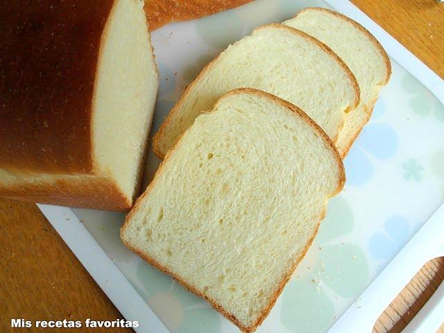 Mis recetas favoritas: Pan de molde fácil