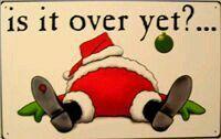 One tired Santa