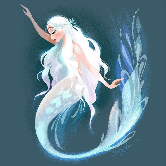 One more inspired by the Royal Finnish Ballet's goodness. #mermay