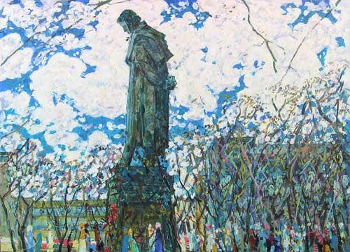 """""""Pushkin"""" BORIS DOMASHNIKOV. Russian Artist"""