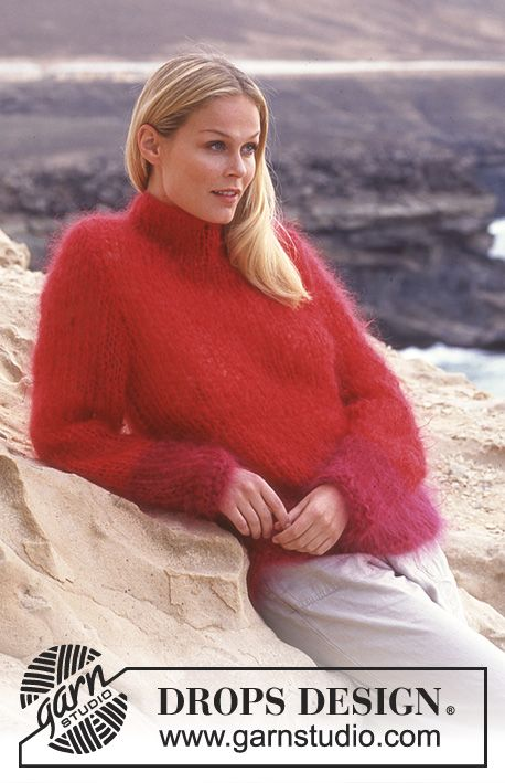 DROPS Sweater in Vienna. Free pattern by DROPS Design.